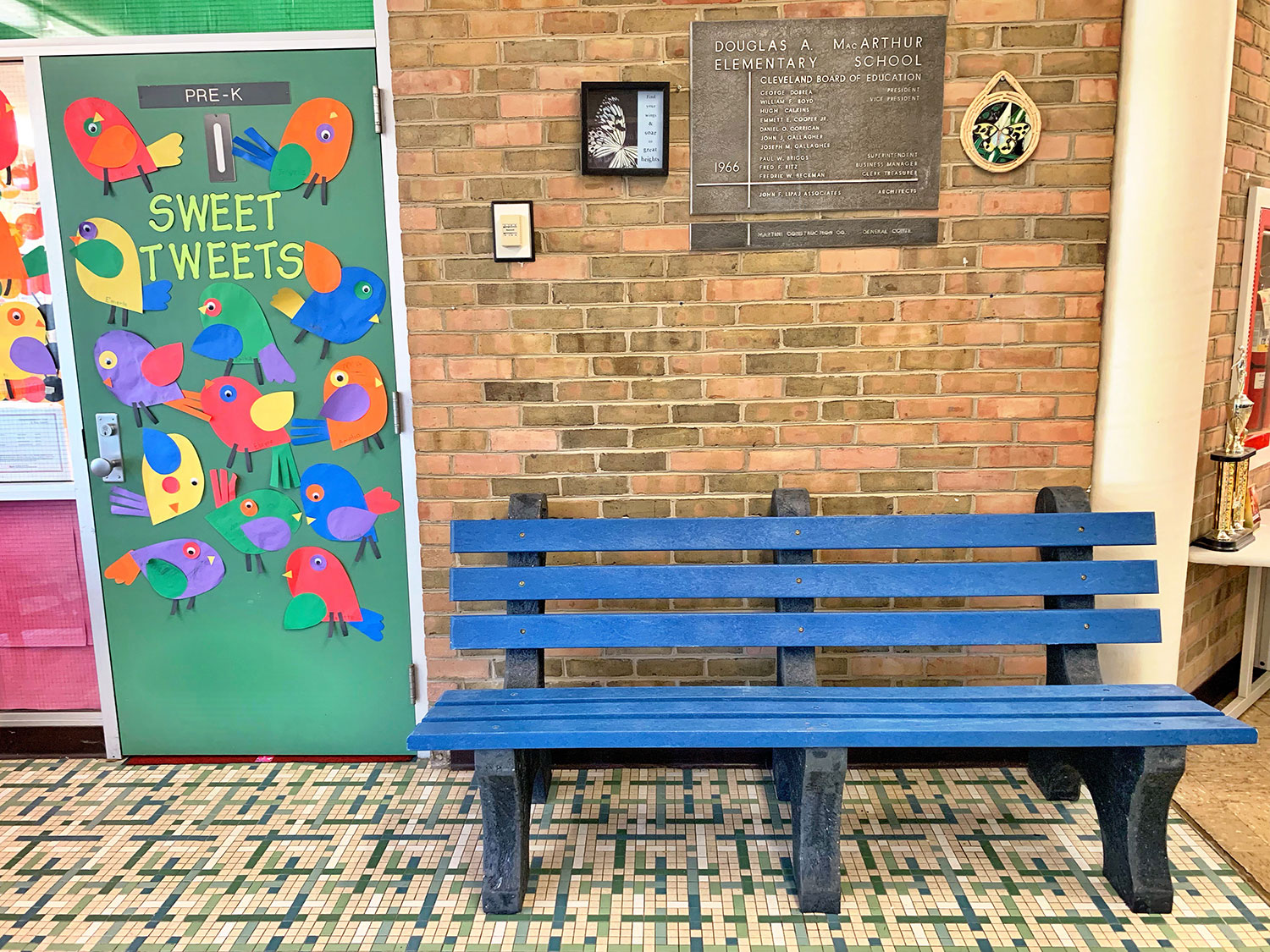 Another buddy bench